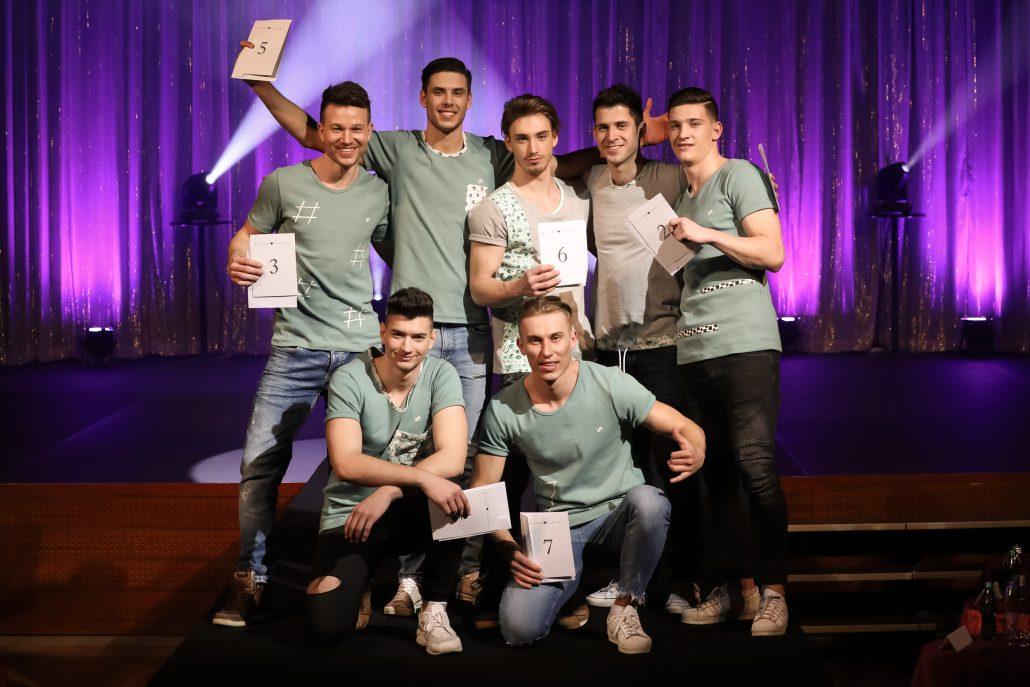 2 del polfinalistov - Mister Slovenije 2018
